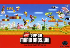 New Super Mario Bros Wii Poster
