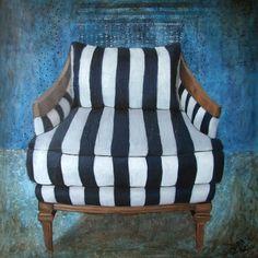"""Saatchi Art Artist Valérie Andriantsiferana; Painting, """"The oppressive pygmalion / SOLD"""" #art"""