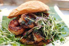 Shrimp Burger   Frita Batidos in Ann Arbor