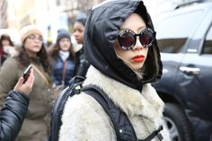 Street Style Inspiration: New York Fashion Week February 2014 {Slideshow}