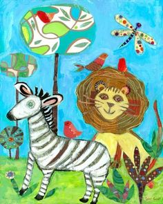 Oopsy daisy The Coolest Jungle Stretched Canvas Art by Carter Carpin, 16 by 20-Inches by Oopsy daisy, Fine Art for Kids. $104.36. Giclee on canvas. Wipes clean with damp cloth. No framing required. Made in the Unites States. Sawtooth makes it easy to hang. Our children's stretched canvas wall art reproductions are created in Oopsy daisy's San Diego studios where we print in the best digital method currently available, achieving great clarity and color resolution in ea...