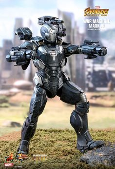 Marvel War Machine Mark IV Special Edition Sixth Scale Figure by Hot Toys Marvel Art, Marvel Dc Comics, Marvel Heroes, Marvel Characters, Marvel Movies, Tony Stark, Die Avengers, Avengers Series, War Machine Iron Man