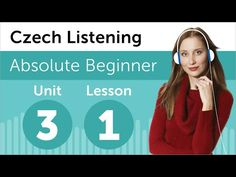 Visit www.czechclass101.com to learn Czech for free! In this lesson, you will improve your listening comprehension skills from a Czech conversation between a student and a teacher.  #Czech #CzechClass101 #LearnCzech