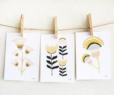 3 Print Set - Desert Flowers