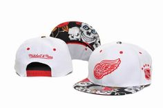 NHL Detroit Red Wings Snapback Hat (8) , wholesale online  5.6 - www.hats-malls.com