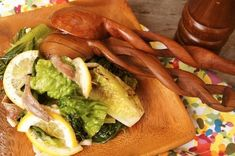 Grilled Romaine Anchovy Salad Recipe | weekend recipes