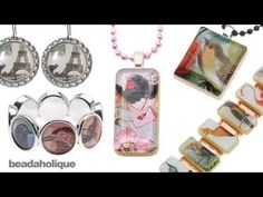 Bead It! Quick & Easy Jewelry, we explore how to use epoxy stickers and all the different projects you can make with them. These stickers are a great alternative to resin or glass domes.