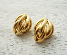 Hitch post earrings by Shlomit Ofir Jewelry Design.