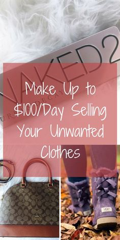 Need something outside the 9-5? Make up to $5000 CASH selling your unwanted clothing and accessories! Download the FREE Poshmark app today, and start earning what you need when you need.