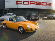 Porsche dedica un espacio a modelos clásicos.