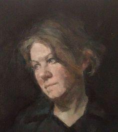 portrait detail 50cm x 40 cm, oil on linen