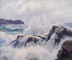Frederick Judd Waugh Foam and Cloud