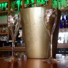 Pierrier Jouet Brut at Vanessas Bistro 2. #PierrierJouet #Brut #VanessasBistro2 #Champagne #RestaurantDesign #FoodandDrink