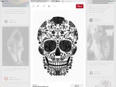 Sugar skull! Love tattoos