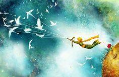 Illustrations, Illustration Art, The Last Unicorn, Fairytale Fantasies, Unusual Art, The Little Prince, Over The Moon, Monster Hunter, Background Images