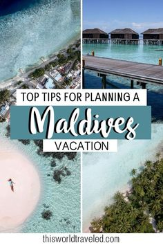 Useful tips to make your Maldives vacation completely stress free! This thorough & information packed guide will help you plan your trip to the Maldives. Maldives Vacation, All Inclusive Packages, Stay Overnight, Island Nations, Crystal Clear Water, Plan Your Trip, Travel Around, Cool Places To Visit, Travel Guides