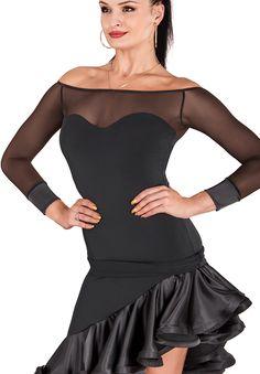 DSI Nataliya Ballroom Dance Top   Dancesport Fashion @ DanceShopper.com
