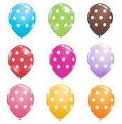 Polka dots and balloons...yes please!