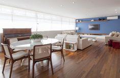 Menos paredes e mais aconchego. Veja: http://www.casadevalentina.com.br/projetos/detalhes/paredes-a-menos,-aconchego-a-mais-654 #decor #decoracao #interior #design #casa #home #house #idea #ideia #detalhes #details #style #estilo #casadevalentina #diningroom #saladejantar