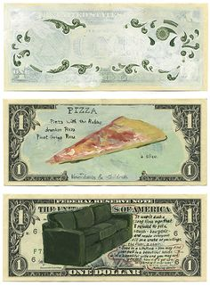 """How do you spend your money? (Old """"retired"""" money from the federal reserve as free paper-Intro to RRR and Visual Literacy/Deconstruction) year 10 consumerism"""