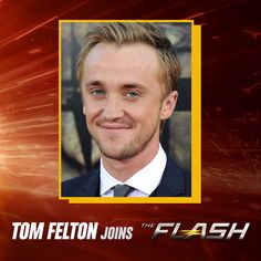The Flash - Tom Felton joins The Flash as a series regular   Felton will play Julian Dorn, a fellow CSI at Central City Police Department who suspects there's more to Barry Allen (Grant Gustin) than just his good guy reputation. And seeing as how Barry currently moonlights as the Flash, Julian is definitely on to something big. grantgust: Today's news about The Flash season 3 has got me pretty excited for what's to come.