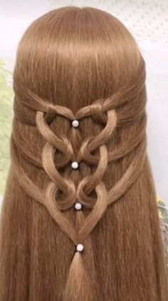 Long hair hairstyles for girls Hairstyles tutorials, Cute Simple Hairstyles, Easy Hairstyles For Long Hair, Braids For Long Hair, Cute Hairstyles, Braided Hairstyles, Wedding Hairstyles, Hair Up Styles, Medium Hair Styles, Long Hair Video