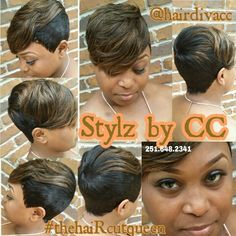 27pc 2 Tone Highlights Short Quick Weave 27 Piece Styles