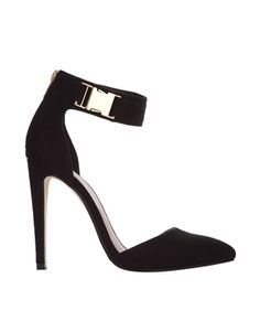 Love the buckle detail on these. ASOS PRAISE High Heels