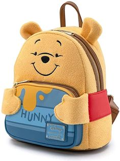 Backpack Bags, Fashion Backpack, Cute Winnie The Pooh, Cute Mini Backpacks, Disney Outfits, Kids Outfits, Girls Bags, Cute Bags, Purses And Bags