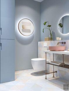 È questo lo stile che vuoi per il tuo bagno? Probabilmente cerchi qualcosa di moderno. Nella mia guida trovi tutti gli step per arredare un bagno moderno da far invidia. Foto di proposte di tendenza incluse!  #arredamento #bagno #interiordesign #casa #salledebain #bathroom #bathroomideas
