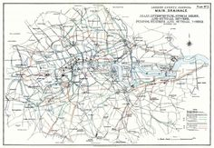 Sewers, pumping stations and outfalls, London 1930.