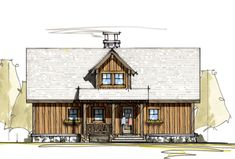 Listings (out of America's Best House Plans offers a range of floor plans exceptionally designed in order to offer comfort, versatility and style. 2 Bedroom House Plans, Cabin House Plans, Rustic House Plans, Mountain House Plans, Cabin Floor Plans, Modern Farmhouse Plans, Best House Plans, Small House Plans, Farmhouse Ideas