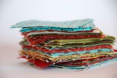 retalhos de tecido