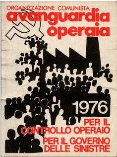 Manifesti Politici di Avanguardia Operaia