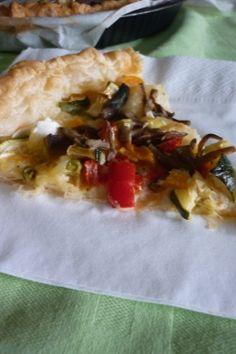 Pausa #pranzo in #ufficio? Ecco un'idea: la #ricetta della torta salata alle verdure!
