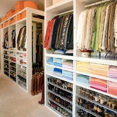 Walk-in wardrobe ... Your DREAM home starts here ... Edmonton Home Builders  http://michaelhomesinc.ca