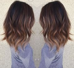I love this length and the waves !! I want to do my hair like this !