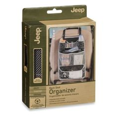 Buy Jeep® Baby Gear Back Seat Organizer from Bed Bath & Beyond