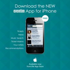 Introducing...    The brand new Eventim UK iPhone App.    Download it for free now!