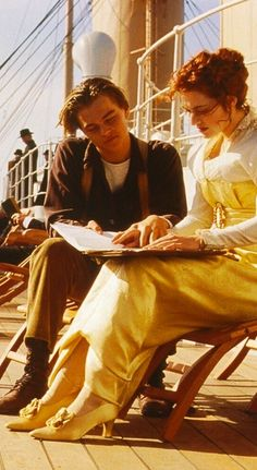 Rose and Jack in 'Titanic' (1997)