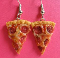 I should wear these because I love pizza so much haha