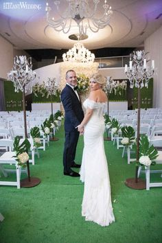 Qualities of the outdoors were brought inside for the exotic Montreal wedding to generate a botanical feel accompanied by the fresh smell of organic flowers Loft Hotel, Montreal, Elegant Wedding, Wedding Styles, Real Weddings, Exotic, Bride, Wedding Dresses, Fashion