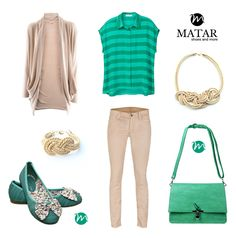 Casual spring outfit by Matar.ro