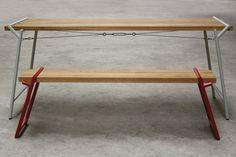 'Atlas' table by Psalt Design