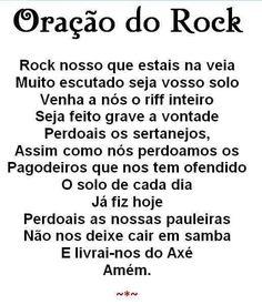 Oração do Rock.