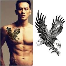 Tattoos for men Baby Tattoos, Couple Tattoos, Body Art Tattoos, Sleeve Tattoos, Tattoos For Guys, Eagle Chest Tattoo, Eagle Tattoos, Trendy Tattoos, Unique Tattoos