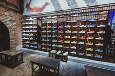 Adidas Originals flagship store by Stereotactic, Moscow – Russia | City Lighting Products | https://www.facebook.com/CityLightingProducts/