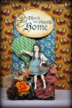 Magic of Oz Easel Tag - Graphic 45