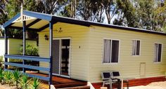 Variety of holiday park accommodation to suit travelers, couples & families! - McLean Beach Caravan Park