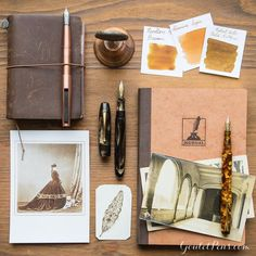 Allow something a little old fashioned to delight and inspire your writing! Click the link in our bio to find today's Thursday Things: Sepia, a collection of warm brown-toned fountain pens, ink, and paper that will have you embracing nostalgia.